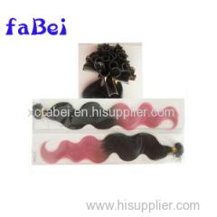 8a Virgin Brazilian Human Hair 12--28 Inch Pre-Bonded Hair I Tip U Tip V Tip Pre Braided Hair Extensions