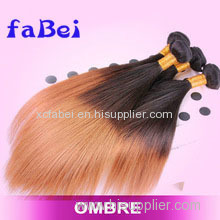 Cheap Ombre Body Wave Hair Weaving Top Quality Brazilian Virgin Human Hair Double Machine Hair Weft
