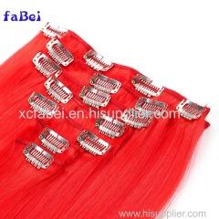 Raw virgin cuticle aligned hair clip in hair extension raw cambodian hair wholesale free sample hair bundles
