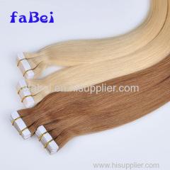 High Quality 100% Brazilian Virgin Remy European Tape Hair Extensions