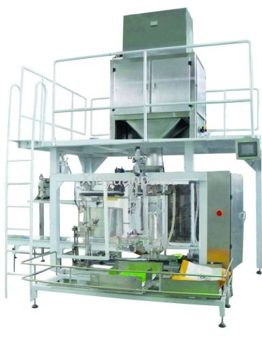 Folded big bag packing machine
