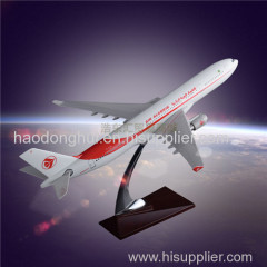 Scale Model Aircraft OEM Airbus 330 Air Algerie Airplane Model Resin Simulation 1:160