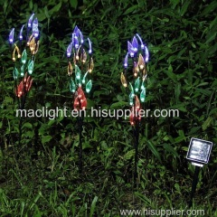 Outdoor Garden Decoration Solar Tree Shaped Stake Lighting