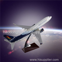 Boeing 737 Boliviana Airlines Scale Model Airplane OEM Resin Craft According to the Actual Ratio