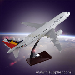Resin Crafts Model Airbus 320 Philippine Airlines Model Airplane Manufacturer