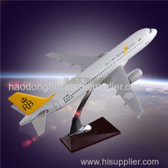 Exhibit Static Airplane Model OEM Airbus 320 Royal Brunei Airlines Aircraft Factory Direct Sales Resin Craft