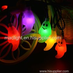 Halloween Decoration String Lights Solar Powered Colorful Changing