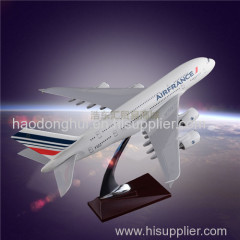 Decorative Airplane Model Airbus 380 Air France Manufacturer Direct Sales