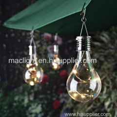 Outdoor Camping Solar Bulb Rotatable Hanging LED Lamp