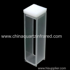 3.5ml clear quartz glass cuvette