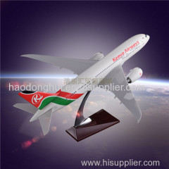 Model Airplane OEM Boeing 787 Kenya Airways Model Aircraft Resin Factory Direct Sales