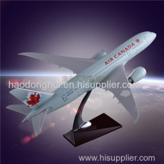 OEM Gift Airplane Model OEM Boeing 787 Air Canada Aircrafts Resin Manufacturer Direct Sales