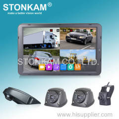 STONKAM HD System with 1080P 4CH HD DVR Monitor