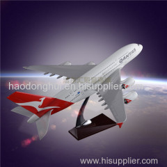 Model Airplane OEM Airbus 380 Qantas Airways Resin Engine Blade Hollow Design