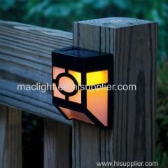 Patio use Solar Fence Lighting