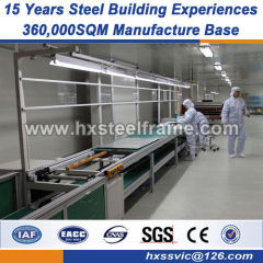 large metal storage buildings fabrication steel structure CE approved