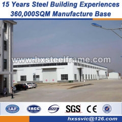 logistics warehouse heavy steel structure fabrication well selling