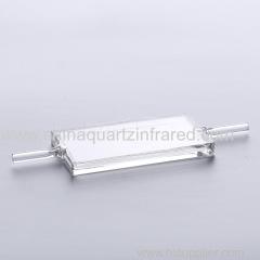 1mm quartz flow spectrophotometer cuvette for lab