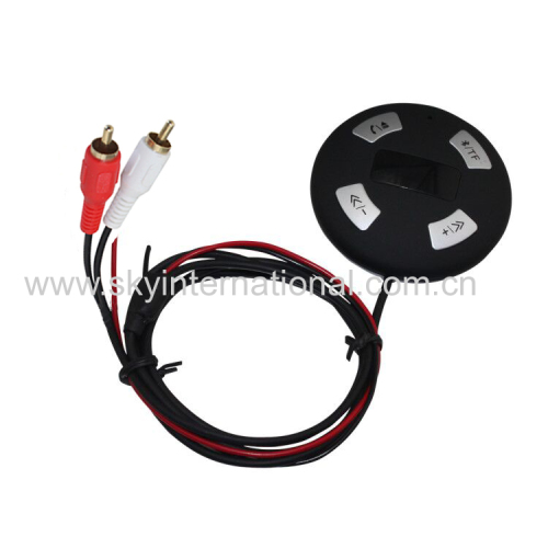 Bluetooth Module With 2Rca Input For Car Radio Stereo Wireless Music Play Hand Free Phone Call
