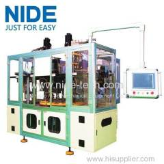 3 station stator coil winder and inserting machine for three phase motor