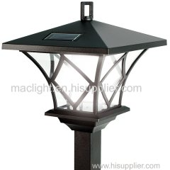 Black Multi-use Outside Solar LED Garden Haning Lighting