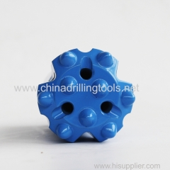 t45 thread button bits with t45 thread drill rod