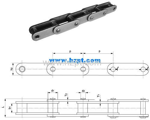 Hot Sale Conveyor Chain 81X 81XH 81XHH For Lumber