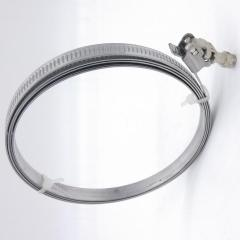 Stainless Steel Air Duct Quick Release Lock Install Hose Pipe Clamp for Ventilation
