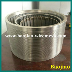 Wedge Strip Sieving Mesh cylinder