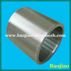 Flat Welded Wedge Wire Screen with drawing