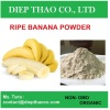 Food grade banana powder from riped banana