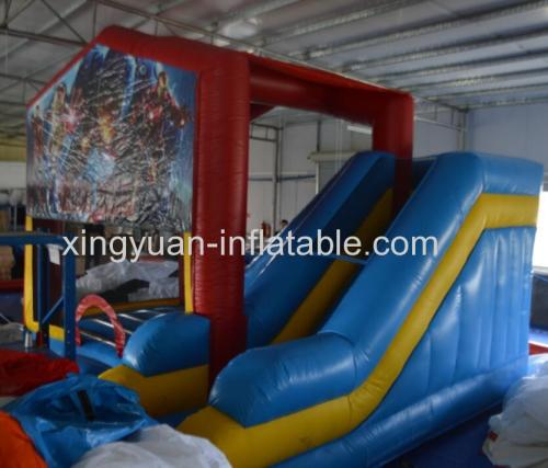 Iron Man Inflatable jumping bouncer for sale