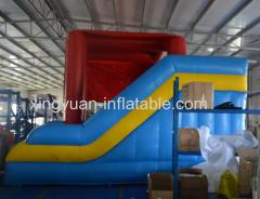 Inflatable Iron Man bouce house with slide