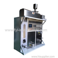 Continous Fiber Melt Spinning Machine