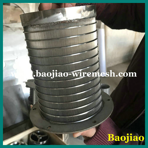 304/316 Parabolic Sieving Filter Screen