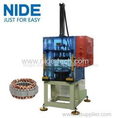 Fan motor washing machine motor stator coil forming and Shaping Machine