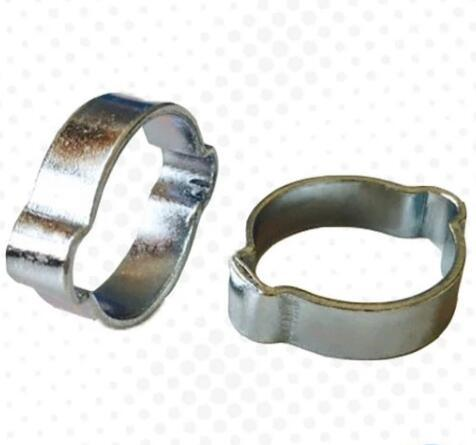 tamper proof Stainless Steel double Ear Automotive Hose Clamp