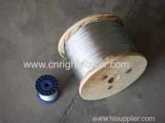 Galvanized high carbon wire