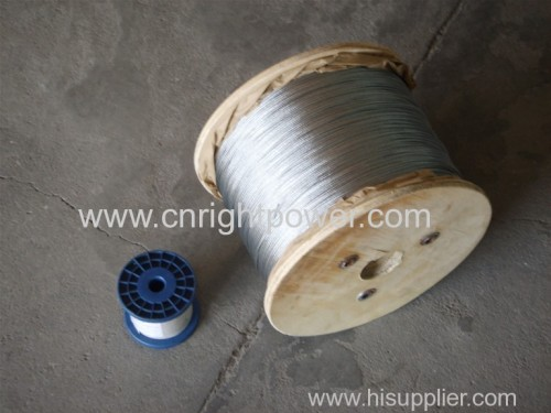 galvanized spring wire