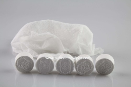 Mini Tissue Compressed Magic Towels OEM Magic Coin Tissue