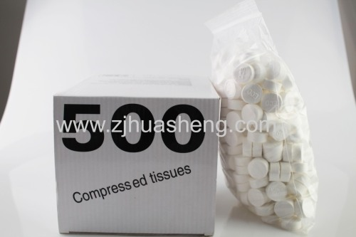 Cotton Compressed Magic Tissue For Promotion