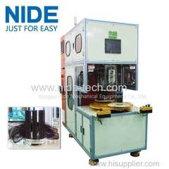 Automatic table fan motor stator winder transformer coil winding machine