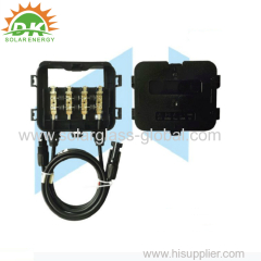 IP67 Solar junction box for PV solar panel 100W to 340W with TUV certificate