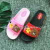 The lovely children slippers flat open toe shoes