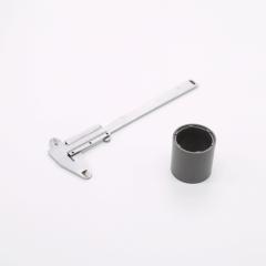 Molded plastic bonded magnets