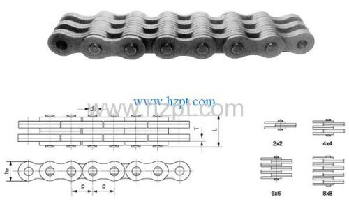 Leaf chain LL0822 LL0844 LL0866 LL0888 For Forklift Truck Lifter