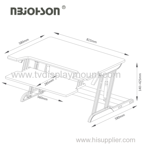 Office Furniture Factory Supply Height