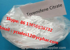 Toremifene Citrate Anti Estrogen Steroids Powder With High Purity