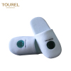 Hotel Travel Spa Disposable Indoor Velvet Pile Slippers home white travel shoes