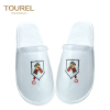 Cheapest nice quality soft one-time slippers disposable hotel nap cloth shoe